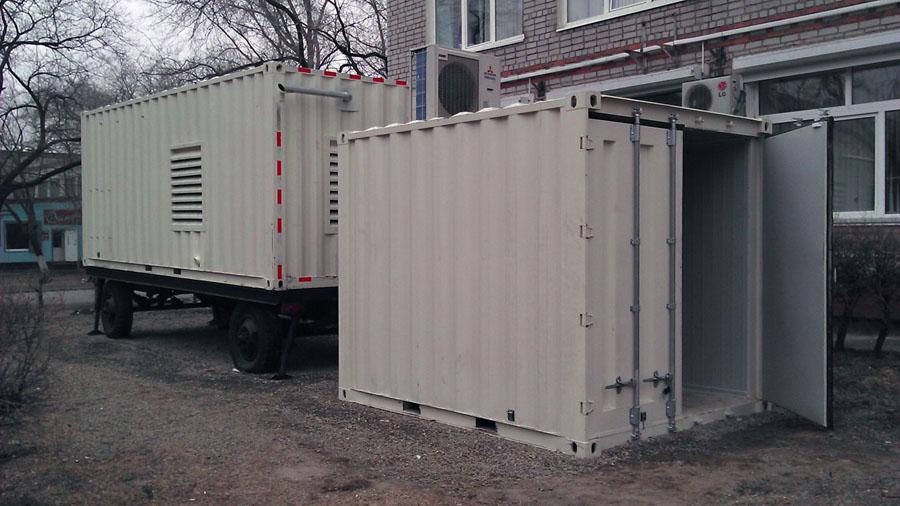 Диспетчеризация электроснабжения - контейнеры ИБП ДГУ