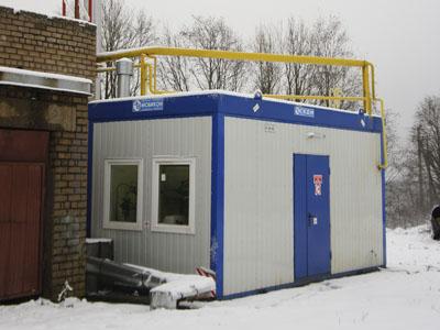 Автоматизация газовой котельной - газовая котельная 1
