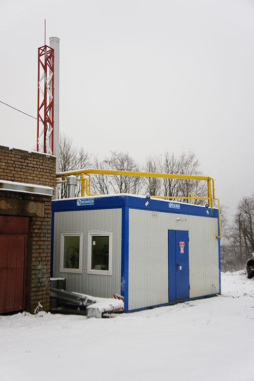 Автоматизация газовой котельной - газовая котельная 2