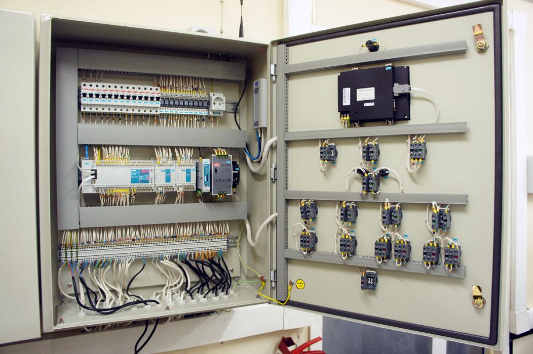 Автоматизация газовой котельной - шкаф автоматики
