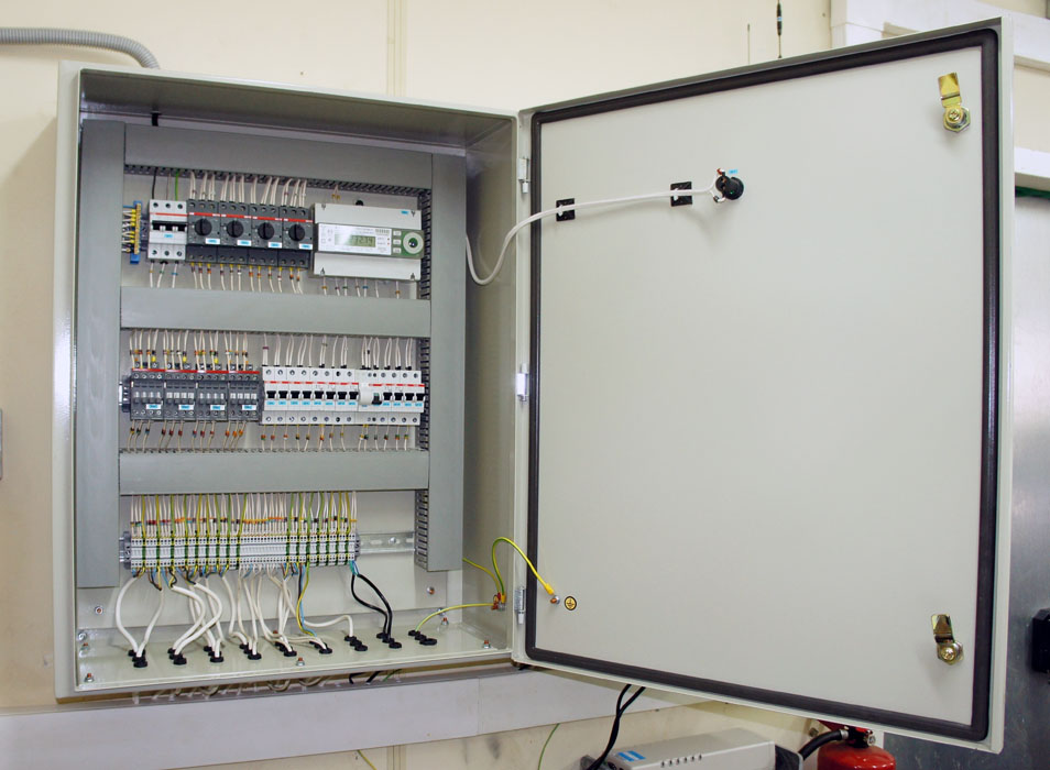 Автоматизация газовой котельной - силовой шкаф