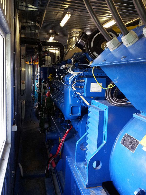 Система вентиляции газопоршневой теплоэлектростанции - газопоршневая теплоэлектростанция 3