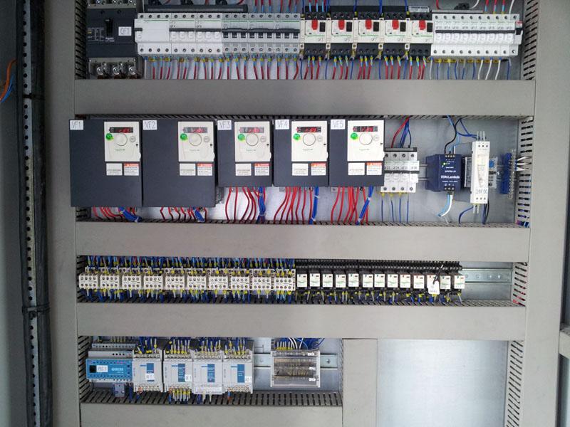 Система вентиляции газопоршневой теплоэлектростанции - шкаф управления вентиляцией 2