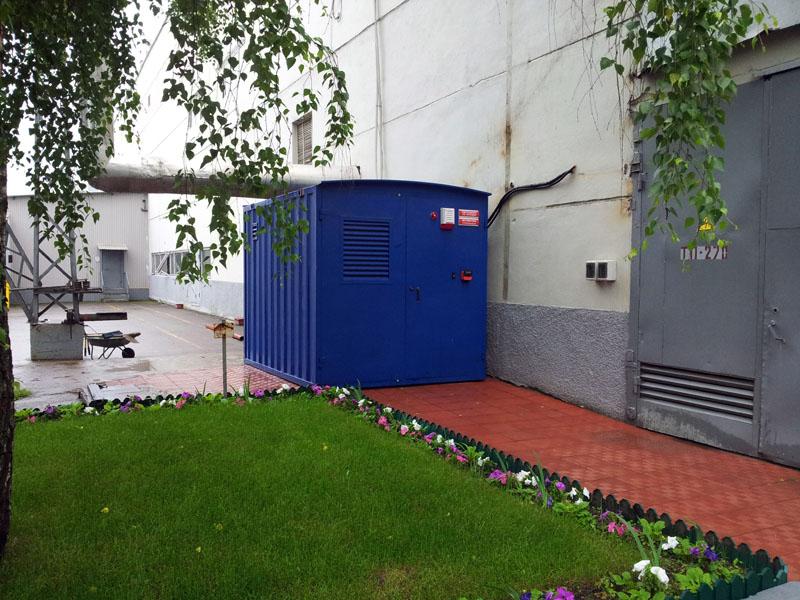 СМС мониторинг ДГУ - ДГУ исполнение в контейнере 1