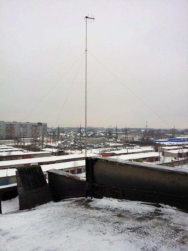 Удаленное управление насосной станцией - приемо-передающая антенна