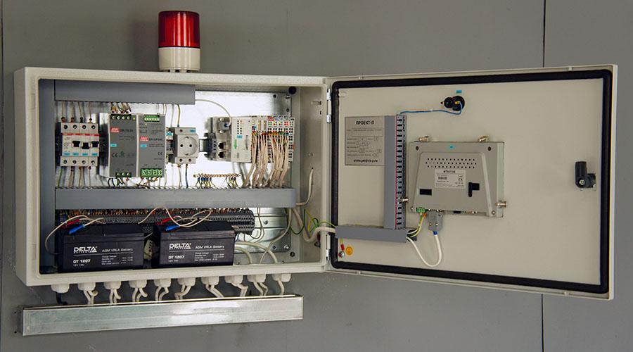 Автоматизированная система управления сетевыми насосами - щит управления 2