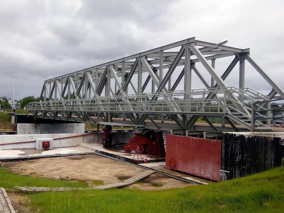АСУ разводного моста - разводной мост 2