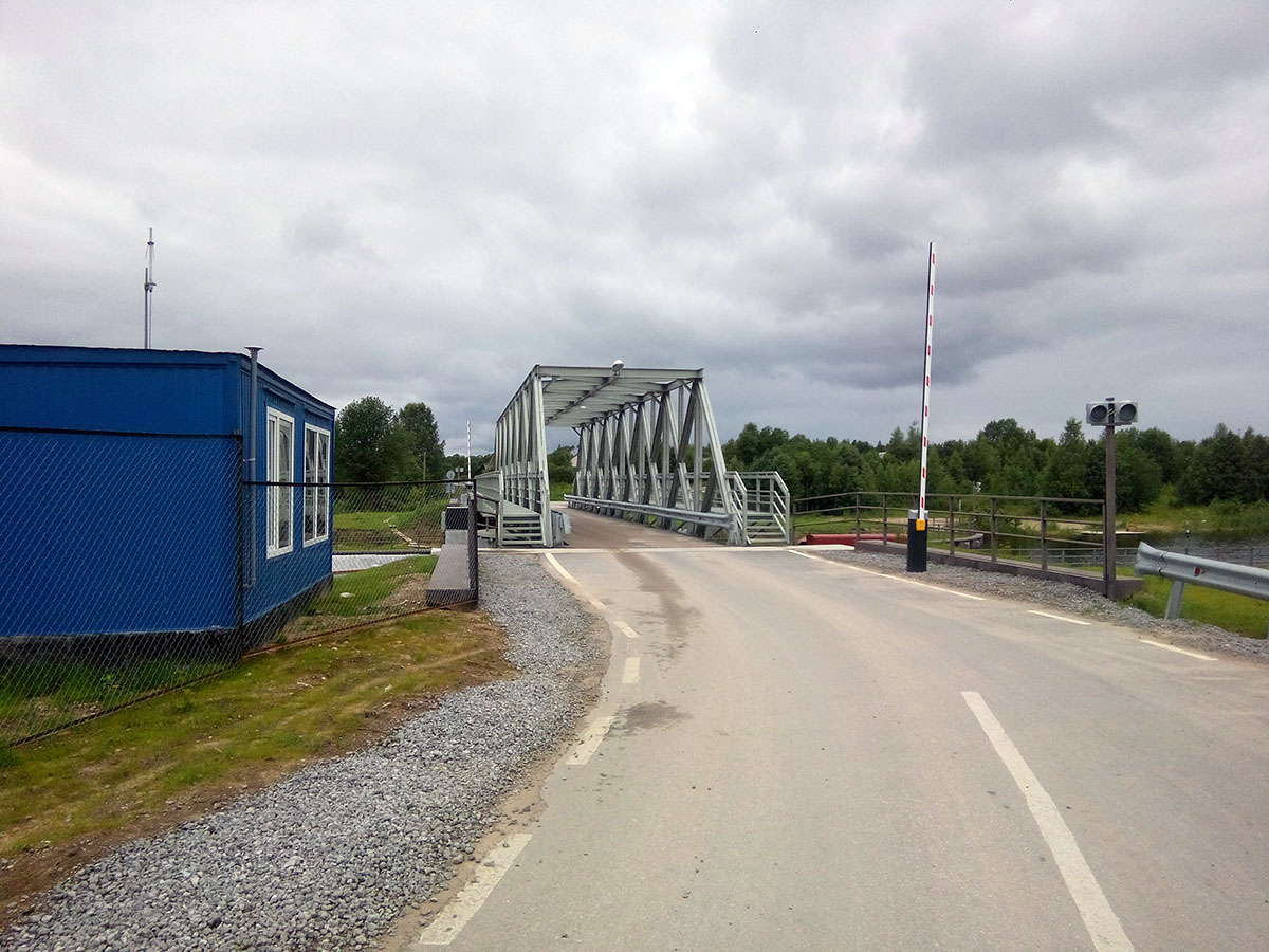 АСУ разводного моста - разводной мост 3