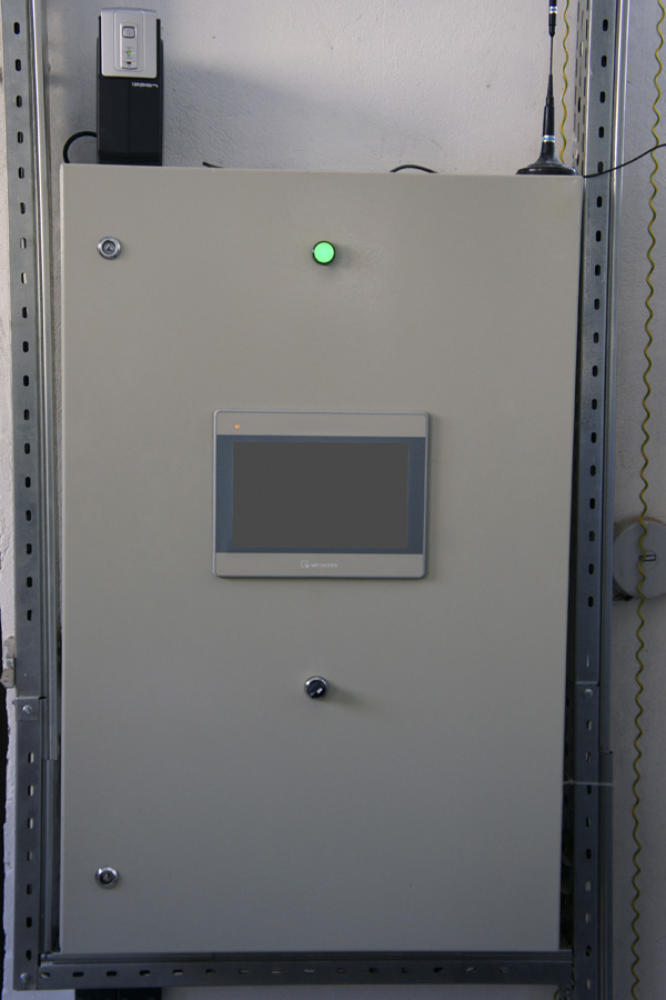 WEB-диспетчеризация газовой котельной на базе WSCADA - шкаф автоматики 1