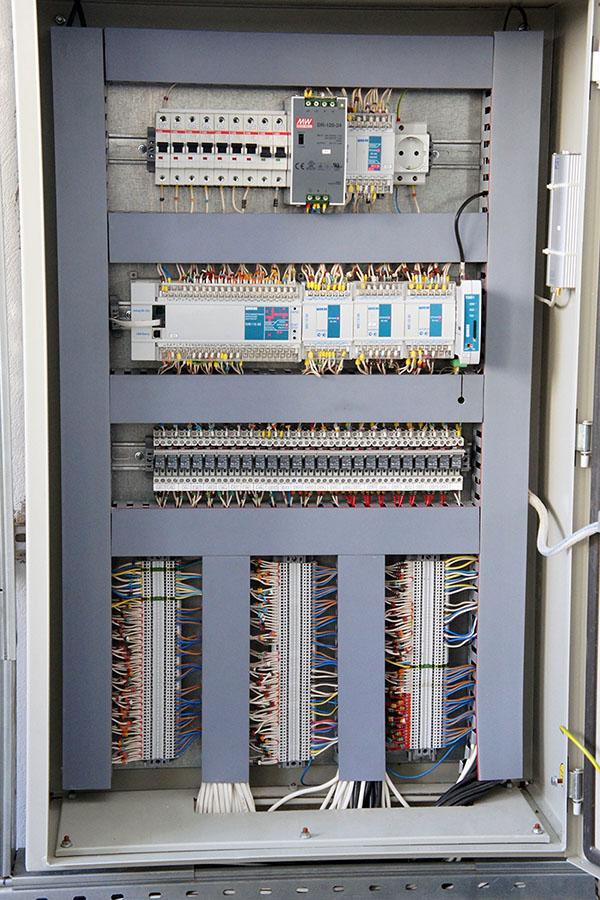 WEB-диспетчеризация газовой котельной на базе WSCADA - шкаф автоматики 2