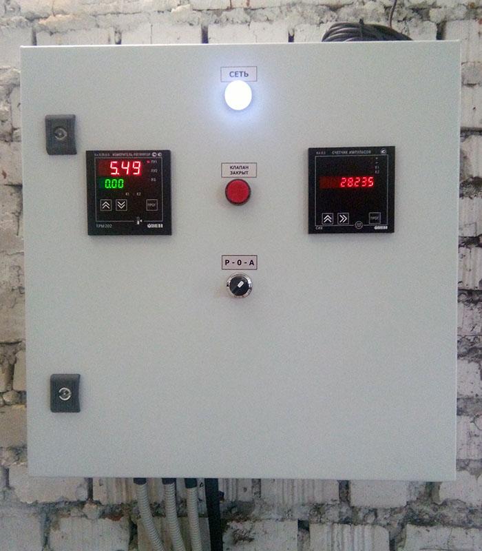 Система диспетчеризации водоснабжения - щит диспетчеризации 1