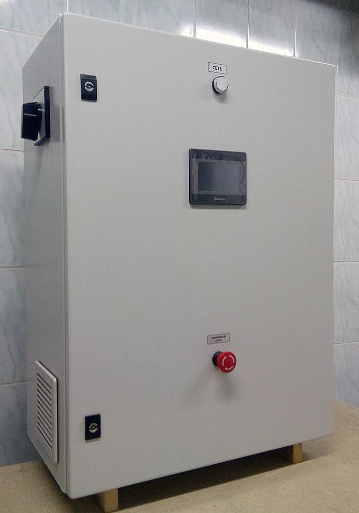 Пульт управления плунжерным гомогенизатором - пульт управления 1