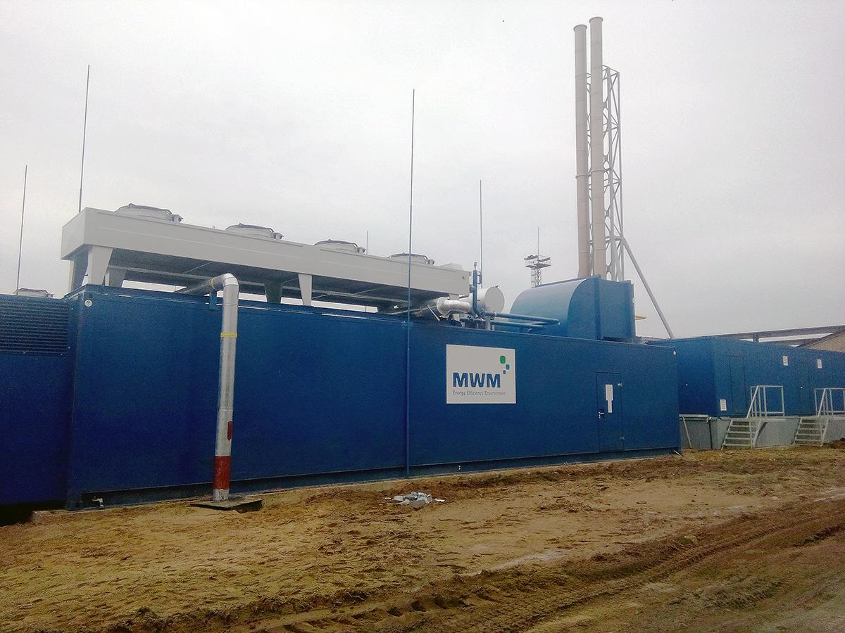 АСДМ газопоршневой теплоэлектростанции - газопоршневая теплоэлектростанция 2