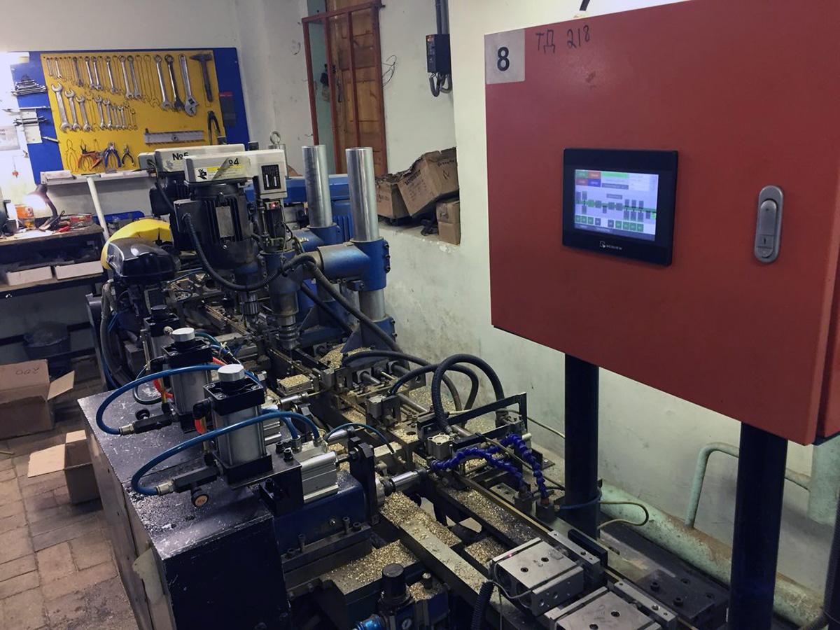 Автоматизированная система управления станом производства электрических шин - стан производства электрических шин 2