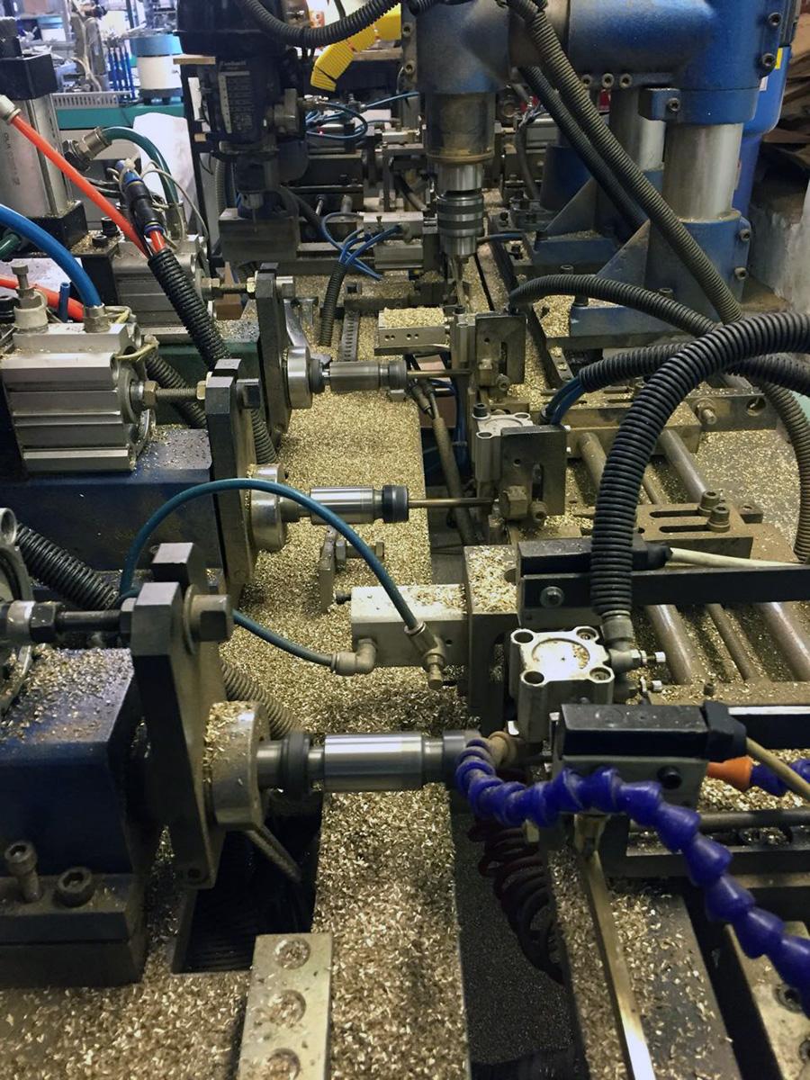 Автоматизированная система управления станом производства электрических шин - стан производства электрических шин 3