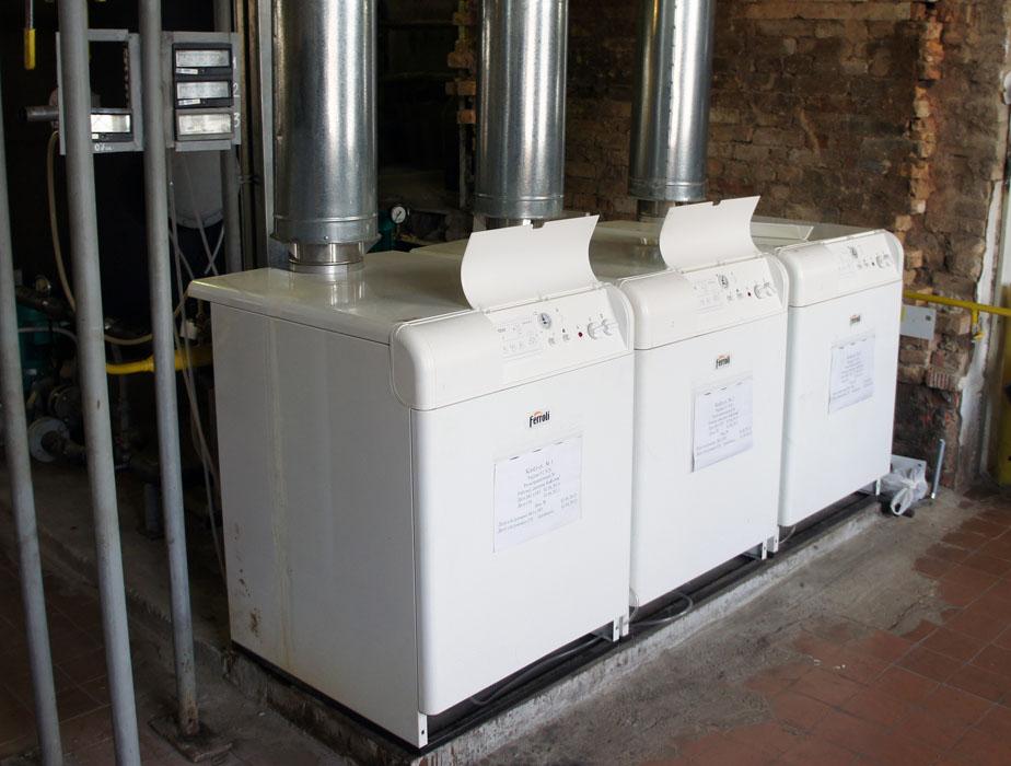 Система телеметрии (диспетчеризации) газовой котельной - газовые котлы