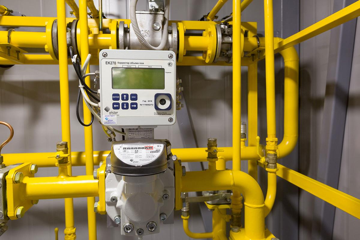 Интернет диспетчеризация корректора газа ЕК270 - узел учета газа
