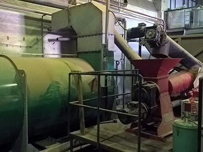 Автоматизация сушильной камеры для сушки пивной дробины - роторный сушильный комплекс 1