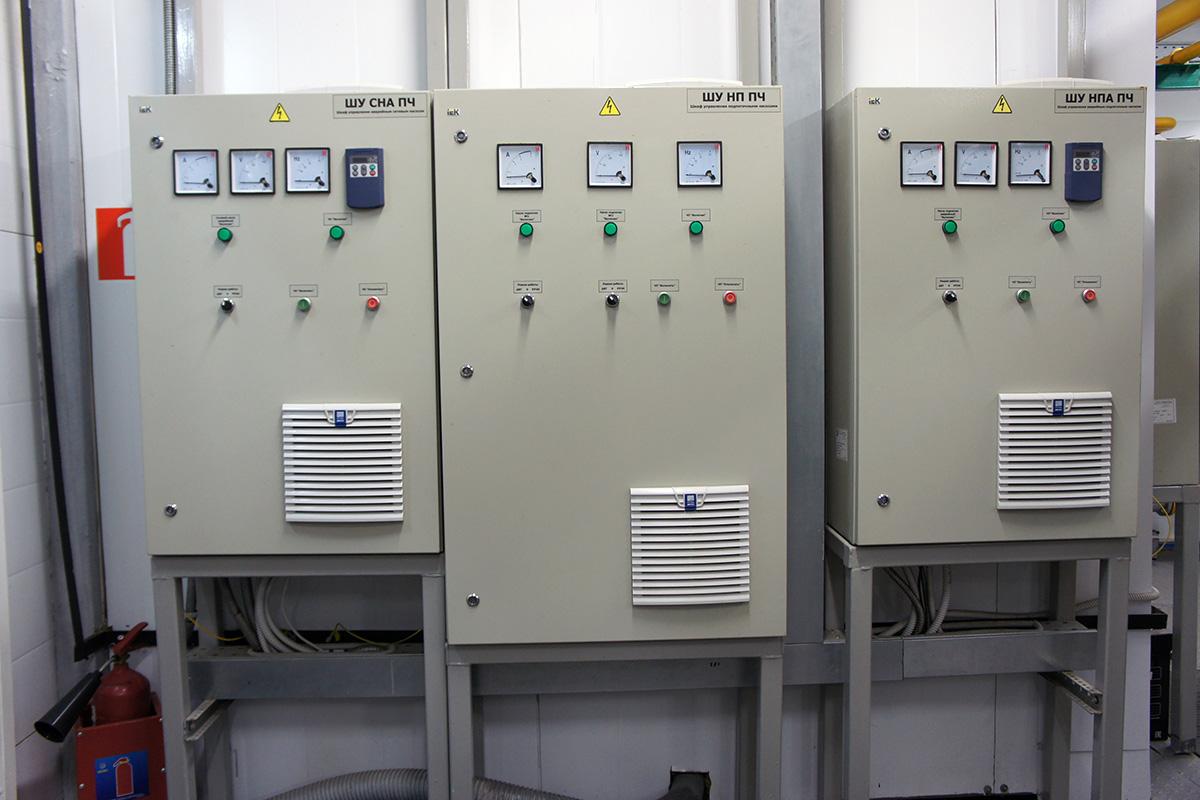 Пусконаладочные работы котельной 3.24МВт - газовый модуль - силовые шкафы