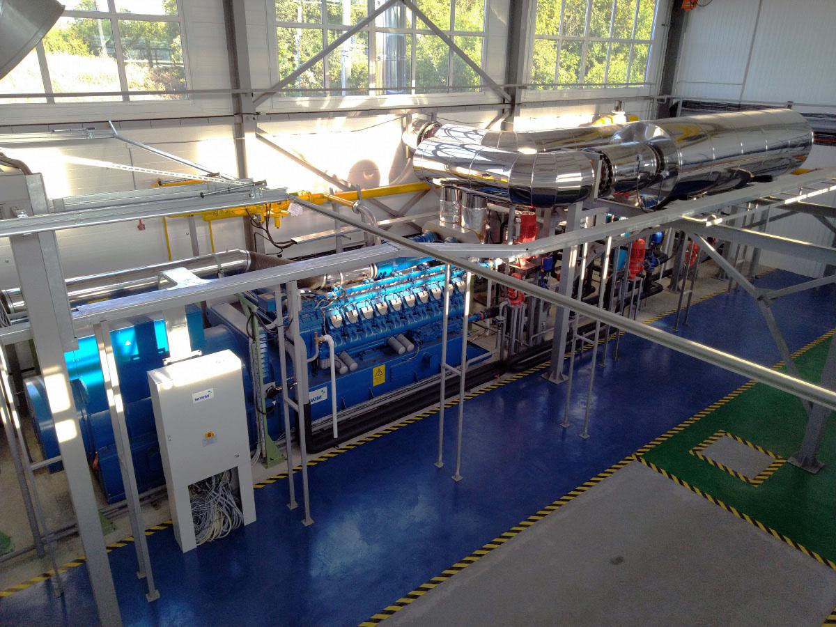 Автоматизированная система управления мощностью газопоршневой электростанции - ГПУ MWM 2