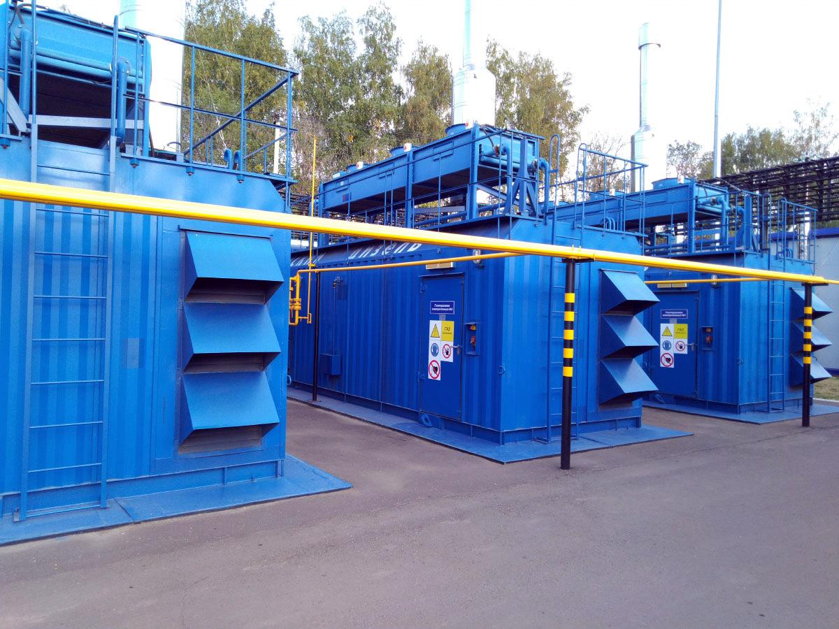 Автоматизированная система управления мощностью газопоршневой электростанции - ГПУ Волжский дизель