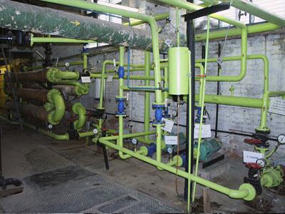 Система телеметрии газовой котельной - подогреватель гвс