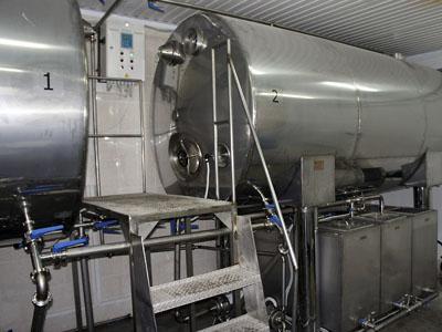 АСУ ТП двух емкостей хранения и моечной станции - емкости храниения