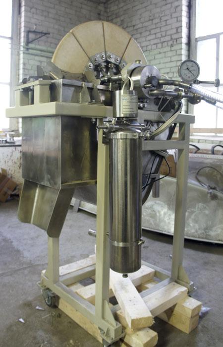 Вакуумный керамический дисковый фильтр - установка 3