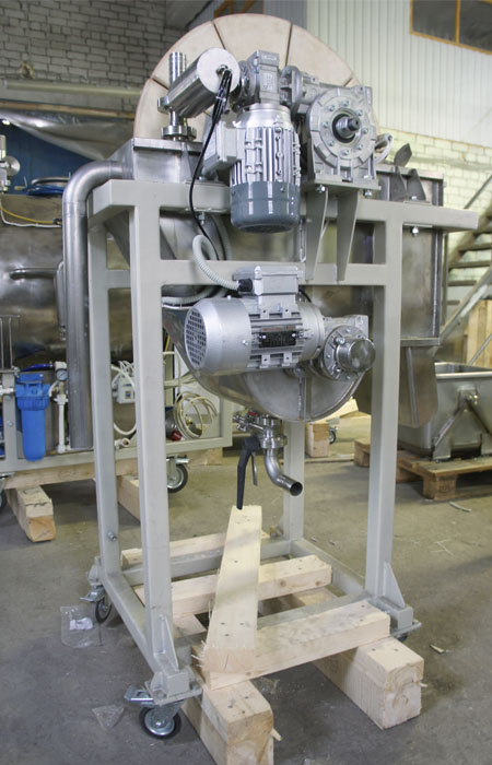 Вакуумный керамический дисковый фильтр - установка 4