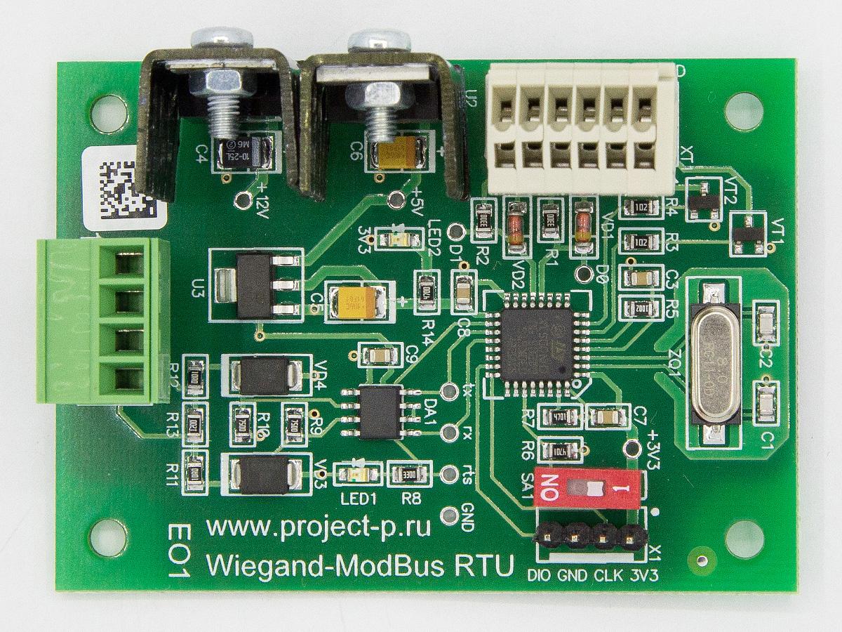 Wiegand RS485 Modbus-RTU 3